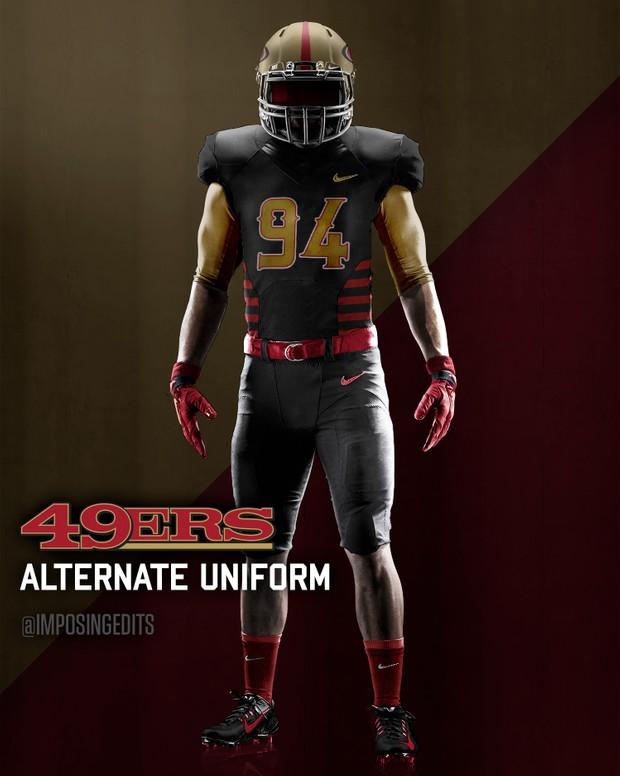 football alternate uniform template psd
