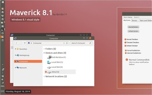 Maverick 8.1 - Windows 8.1 Theme