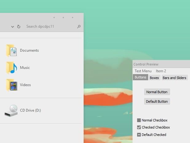 Simplify 10 Light Micro - Windows 10 Theme