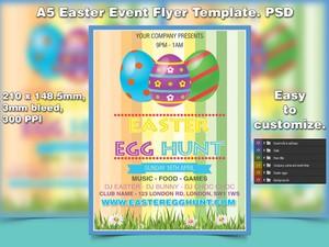 Easter Egg Hunt Flyer Template (PSD)