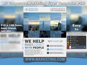 Marketing Flyer Template (PSD)