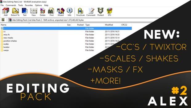 Koon Alex: Full Editing Pack 2!