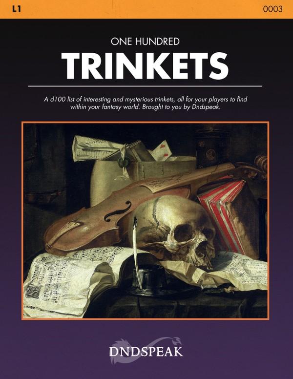 L1: 100 Interesting Trinkets - PDF