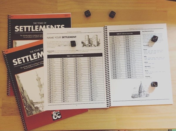 T1: The Tome of Settlements - Physical Copy