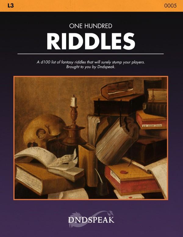 L3: 100 Riddles - PDF