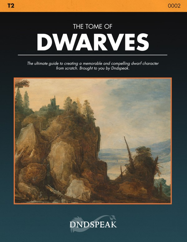 T2: The Tome of Dwarves - PDF