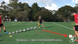 Loads of different variations passing & 1st touch drills