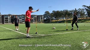 Different drills for 1st touch & passing - Joner 1on1