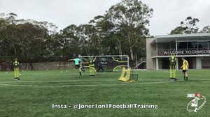 Elite shooting drills with a goal keeper.