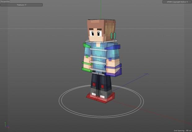 Advanced Feeble Minecraft Rig v2 (OLD)