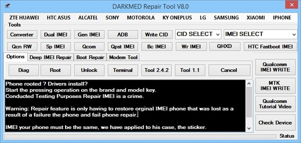 DARKMED REPAIR TOOL V8 0