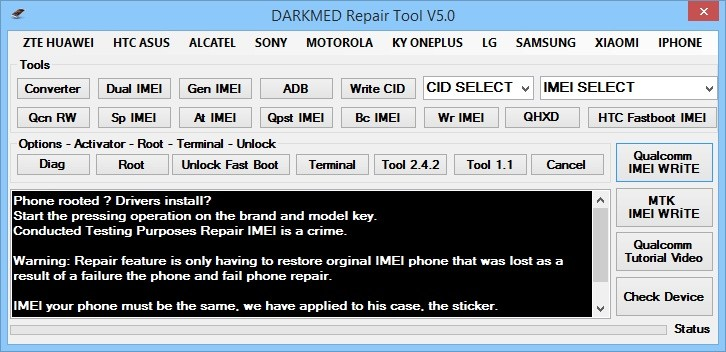 DARKMED Repair Tool V5 0