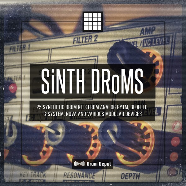 SiNTH DRoMS [25 synth & modular drum kits]
