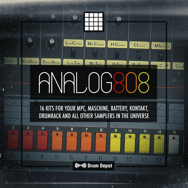 Analog 808 [16 brutalized 808 drum kits]