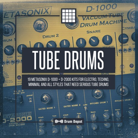 Tube Drums [19 Metasonix D-1000 & D-2000 drum kits]