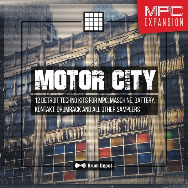 Motor City – MPC Expansion [12 Detroit Techno construction kits]