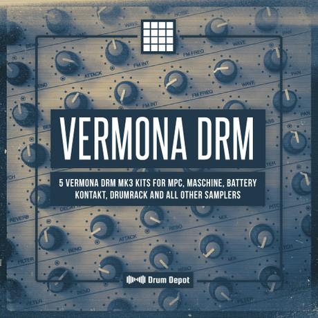 Vermona DRM [5 drumkits & 50 loops]