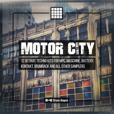 Motor City [12 Detroit Techno construction kits]