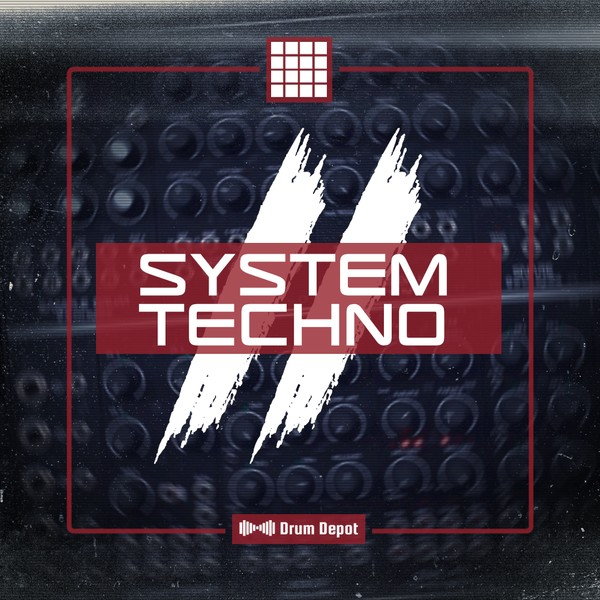 System Techno II - 36 drum kits for Techno, Trap & Electro-Punk