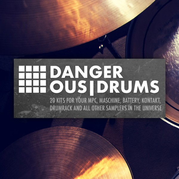 Dangerous Drums [20 filthy drum kits]