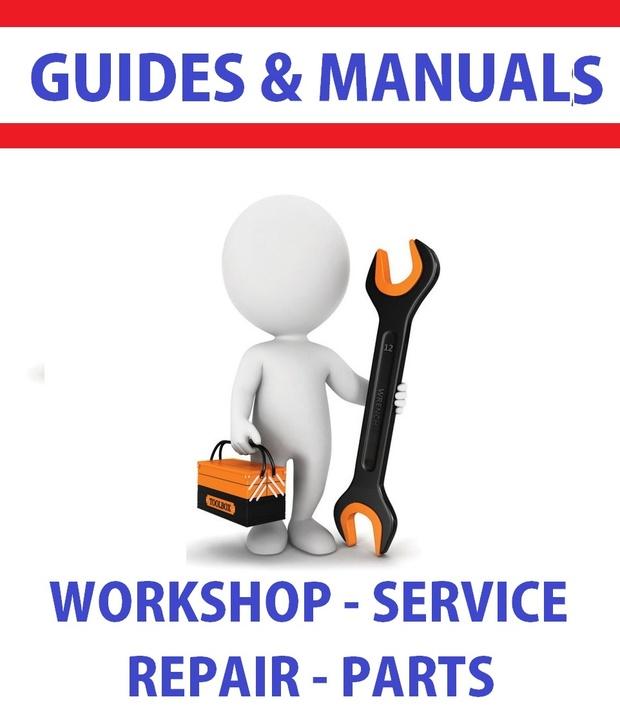 MANITOU MRT SERIES PARTS PART MANUAL & REPAIR MANUAL