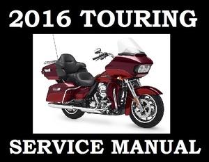 ►2016◄ Harley Davidson Touring Models Workshop Service Repair Shop Manual PDF DOWNLOAD