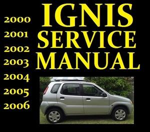 ►► Suzuki IGNIS Service Workshop Repair Manual Wiring Part RG413 RG415 2000 to 2006