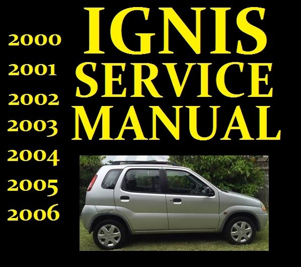 ►► Suzuki IGNIS Service Workshop Repair Manual Wiring Part RG413 RG415 2000 to 2006