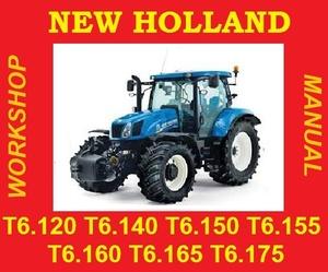 ►NEW HOLLAND 6 T6.120 T6.140 T6.150 T6.155 T6.160 T6.165 T6.175 T6 SERVICE WORKSHOP REPAIR MANUAL