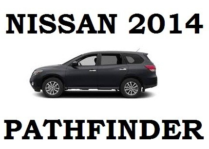 nissan pathfinder 2014 manual