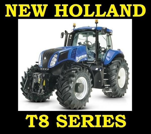NEW HOLLAND T8 SERIES TRACTOR T8.270 T8.300 T8.330 T8.360 T8.390 SERVICE WORKSHOP REPAIR MANUAL