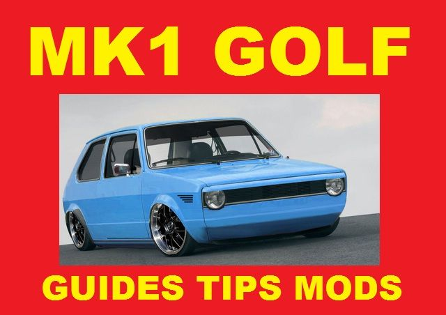 Dedicated vw mk a golf rabbit gti v modifica