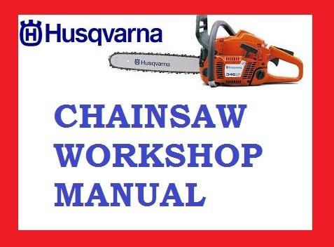 Workshop Service Repair Manual Husqvarna 335XPT 335 XPT Chainsaw Chain saw PDF DOWNLOAD