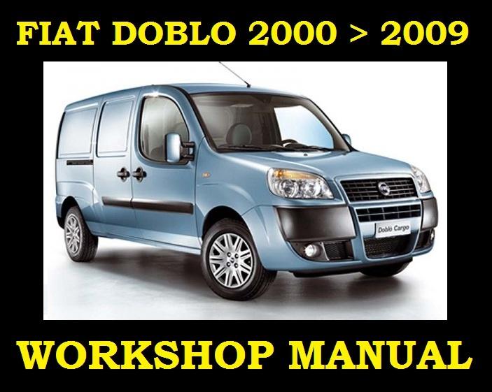 –�▻fiat Doblo Van 2000▻2009 Service Workshop Repair Manual Engine Gearbox Parts▻: Fiat Doblo Wiring Diagram Manual At Hrqsolutions.co