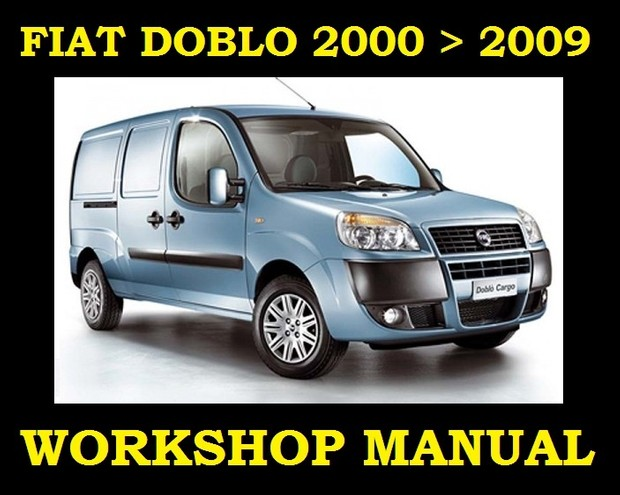 ►►FIAT DOBLO VAN 2000►2009 SERVICE WORKSHOP REPAIR MANUAL ENGINE GEARBOX PARTS►