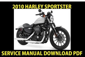 ►☼◄ 2010 Harley Davidson Sportster Models Service Manual ► Workshop Repair Shop PDF Download