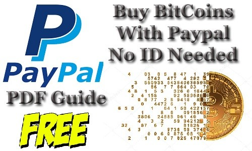 Free PDF Guide How to Convert PayPal Money In To BitCo