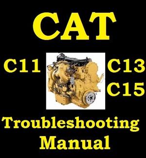 ►► Caterpillar CAT Diesel Engine Troubleshooting Manual C11 C13 C15 C 11 13 15 ► Industrial Engines◄