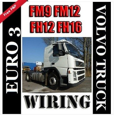 euro 3 fm9 fm12 fh12 fh16 volvo truck wiring electric - guides and manuals  - pdf download workshop service repair parts