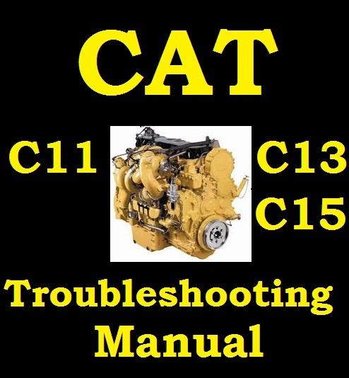 Cat C C C Diesel Engine Service Workshop Repair Troubleshooting Manual
