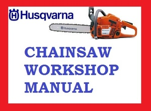 Workshop Service Repair Manual Husqvarna 362XP 365 372XP 362 372 XP Chainsaw Chain saw PDF DOWNLOAD