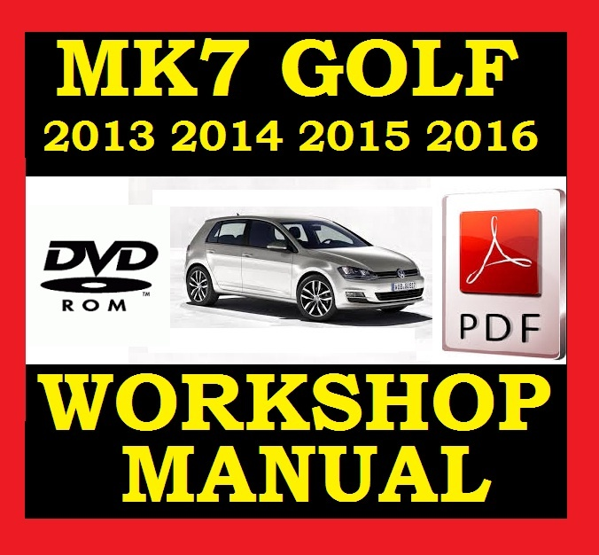 vw volkswagen golf mk7 vii workshop service repair rh sellfy com VW Polo 2010 2015 VW Polo