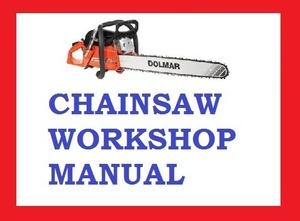 DOLMAR CHAINSAW 109 110I 111 111I 115I WORKSHOP SERVICE REPAIR MANUAL PDF DOWNLOAD
