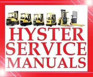 HYSTER FORKLIFT TRUCK WORKSHOP SERVICE REPAIR SHOP MAINTENANCE MANUAL
