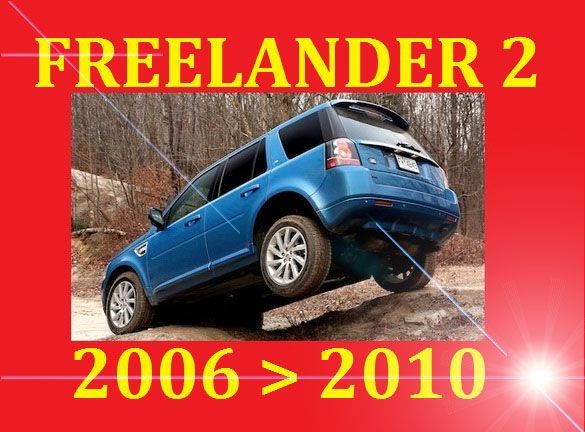 Land Rover Freelander 2 Ii Workshop Service Repair