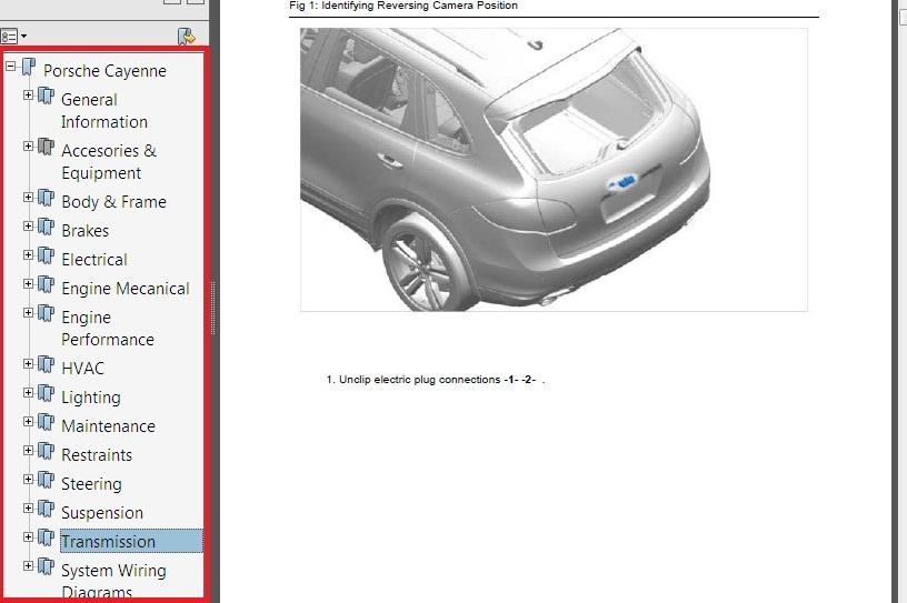 2011 2012 2013 2014 porsche cayenne v6 v8 workshop ser rh sellfy com porsche cayenne repair manual pdf 2005 Porsche Cayenne