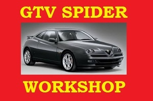 ►Alfa Romeo GTV Spider 916◄ Workshop Service Repair Manual 1.8 2.0 3.0 V6 PDF DOWNLOAD 1994 to 2000