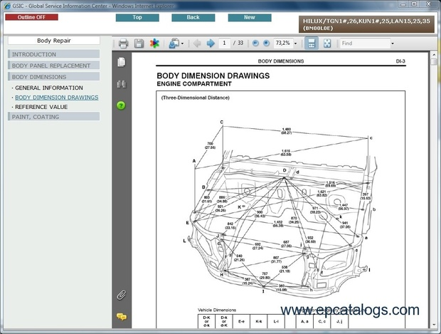 toyota hilux servive repair manual 2005 2010