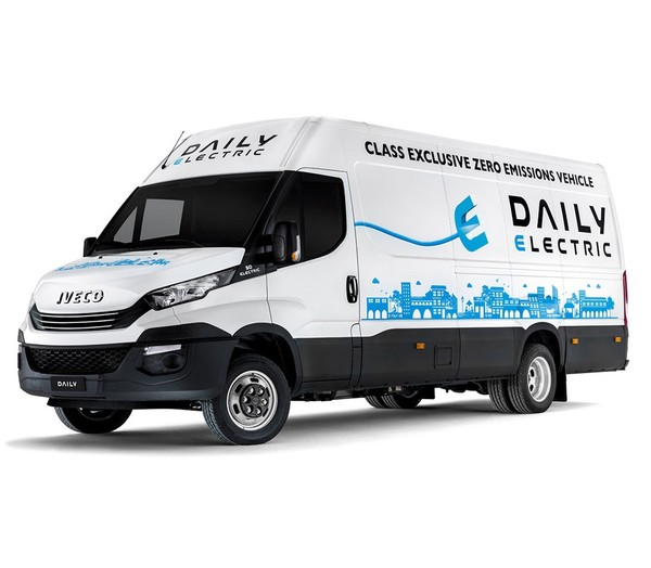 2017 / 2018 IVECO DAILY ELECTRIC - BODY BUILDERS INSTRUCTIONS MANUAL WORKSHOP