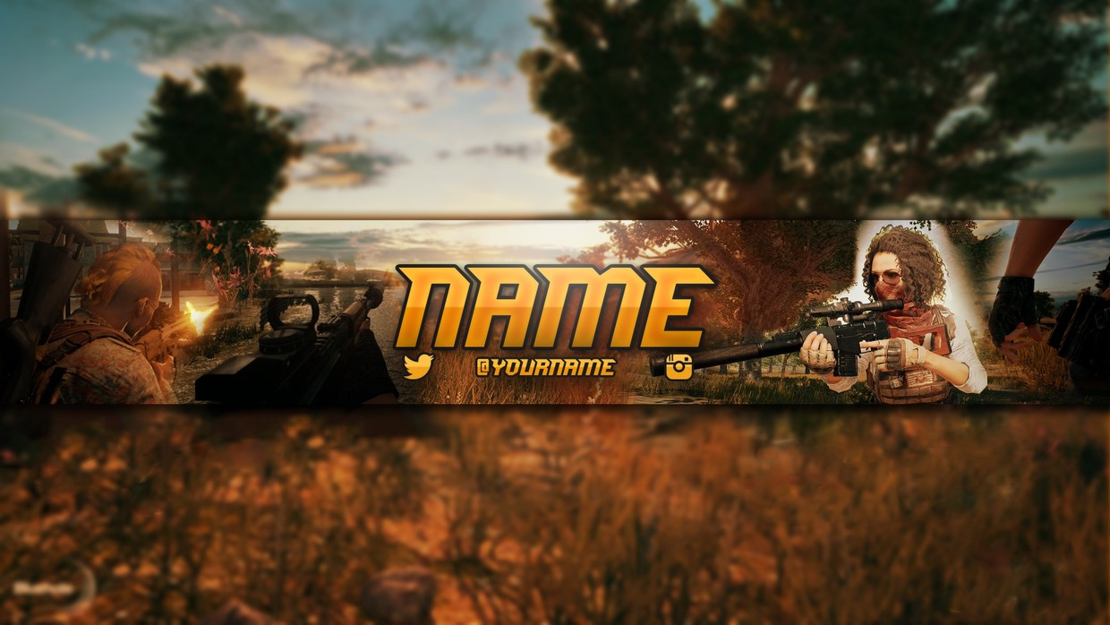 Pubg Youtube Banner Celpodesigns